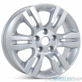 "New 16"" x 7"" Alloy Replacement Wheel for Nissan Altima 2010 2011 2012 2013 Silver Rim 62551"