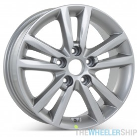"New 16"" x 6.5"" Alloy Replacement Wheel for Hyundai Sonata 2015 2016 Silver Rim 70866"