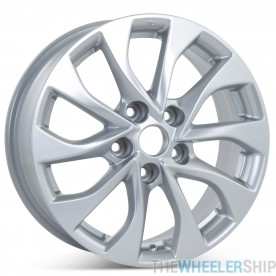 """New 16"""" Alloy Replacement Wheel for Nissan Sentra 2016 2017 2018 2019 Silver Rim 62756"""