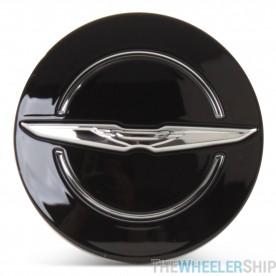 OE Genuine Chrysler Black Center Cap with Wing Logo CAP2993