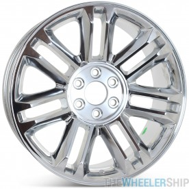 "New 22"" x 9"" Replacement Wheel for Cadillac Escalade Platinum 2011 2012 2013 2014 Rim 5358"