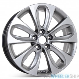 "New 18"" x 7.5"" Alloy Replacement Wheel for Hyundai Sonata 2011 2012 2013 Rim 70804"
