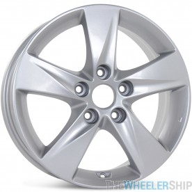 "New 16"" x 6.5"" Alloy Replacement Wheel for Hyundai Elantra 2011 2012 2013  Rim Silver  70806"