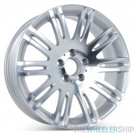 """18""""  Replacement Wheel for Mercedes E350 E550 2007 2008 2009 Rim 65432 Machined w/Silver Open Box"""
