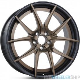 "Set of 4 New 20"" Aftermarket Mercedes Wheels Rims ReverseTwo Piece Matte Black/Bronze"