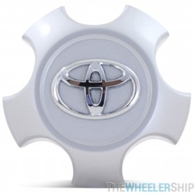 OE Genuine Toyota Rav 4 2009-2014 (4260B-0R020) Star Center Cap Silver CAP2866