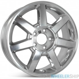 "New 17"" Alloy Replacement Wheel for Cadillac CTS STS 2004 2005 2006 2007 2008 2009 2010 2011 Rim Polished 4578"