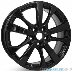 """New 18"""" Alloy Replacement Wheel for Nissan Altima 2016 2017 2018 Gloss Black Rim 62720"""
