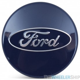 OE Genuine Ford Focus Fusion Escape Edge Fiesta C-Max Blue Center Cap with Ford Logo  CAP3333