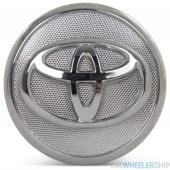 OE Genuine Toyota Corolla Matrix Prius Silver/Chrome Center Cap with Chrome Logo 42603-02220 CAP8499