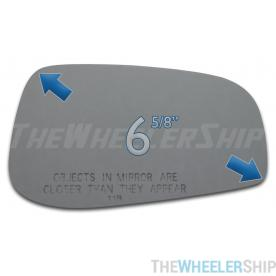 New Mirror Glass Replacements For Volvo S60 S80 2004-2006 Passenger Right Side
