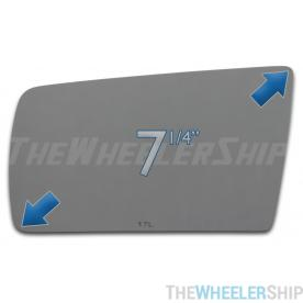 Mirror Glass For Mercedes 97-00 Driver Left Side Auto Dimming Includes Adhesives