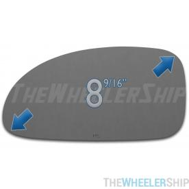 New Mirror Glass Replacements For Buick Lesabre 2000-2005 Driver Left Side 2752