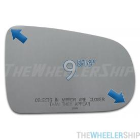 New Mirror Glass Replacements For Pontiac Aztek 2001-2005 Passenger Right Side