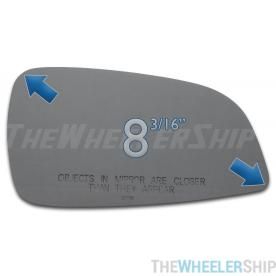 New Mirror Glass Replacements For Chevy Malibu 2008-2012 Passenger Right Side