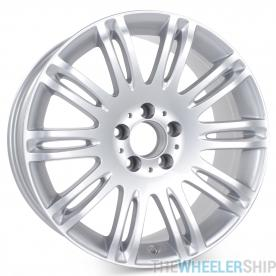 "New 18"" x 8.5"" Alloy Replacement Wheel for Mercedes E350 E550 2007 2008 2009 Rim 65432 Silver"