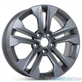 "New 17"" x 7"" Alloy Replacement Wheel for Hyundai Santa Fe 2013 2014 2015 2016 Rim 70845"