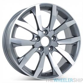 "New 17"" x 7"" Wheel for Honda Civic Si 2009 2010 2011 Rim Charcoal Finish 63996"