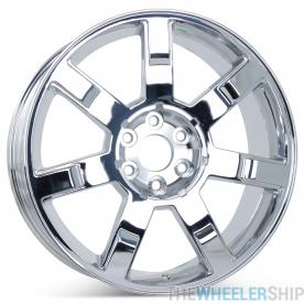 "New 22"" Wheel for Cadillac Escalade 2007 2008 2009 2010 2011 2012 2013 Rim Chrome 5309"