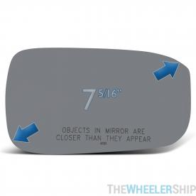 New Mirror Glass Replacements For Honda Accord 2003-2007 Passenger Right Side