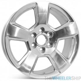 "New 20"" Alloy Replacement Wheel for Chevrolet Tahoe Suburban Silverado 1500 2015 2016 2017 2018 2019 2020 Rim 5652"