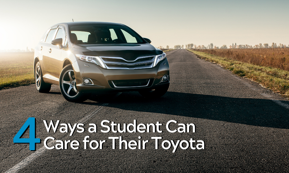 4 Ways a Student Can Care for Their Toyota