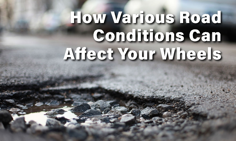 The Different Ways That Potholes Can Affect Your Car