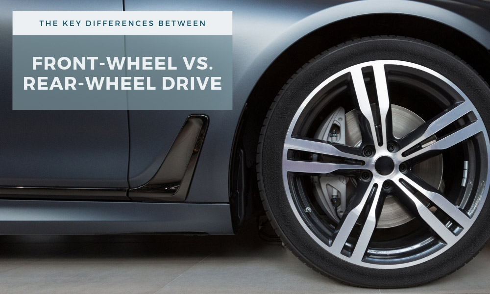 The Key Differences Between Front-Wheel vs. Rear-Wheel Drive